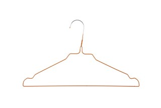 ORANGE HANGERS FOR LAUNDRY MOD. 08O, BOX 500 UNITS