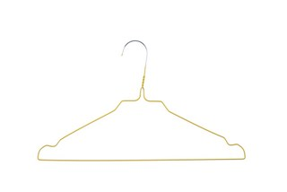 YELLOW HANGERS FOR LAUNDRY MOD. 08Y, BOX 500 UNITS